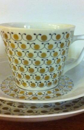 MYYTY! SOLD! / KAHVIKUPPI / COFFEE CUP / MEKKA / ESTERI TOMULA