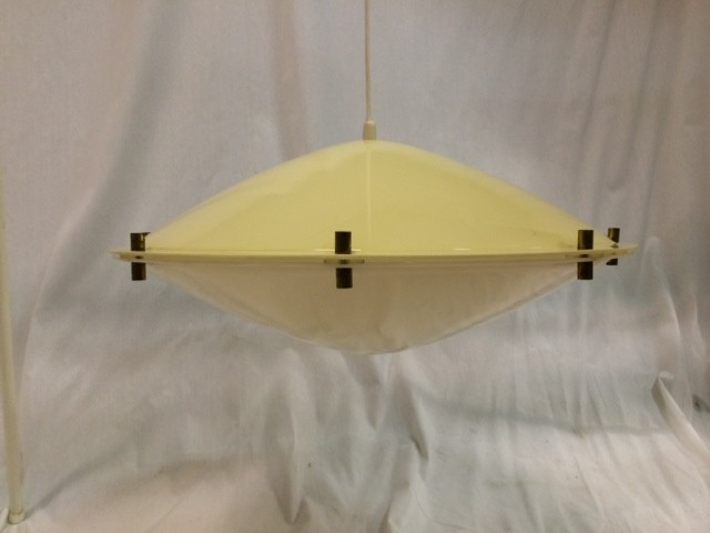 MYYTY! SOLD! /AKRYYLIVALAISIN / ACRYL CEILING LAMP - 1000m2 VINTAGE – DESIGN – ANTIQUES SHOP