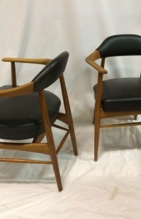 MYYTY! SOLD! / TUOLIPARI / PAIR OF CHAIRS / MID CENTURY MODERN
