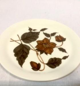 TEA FOR TWO / ARABIA / PLATE / LAUTANEN