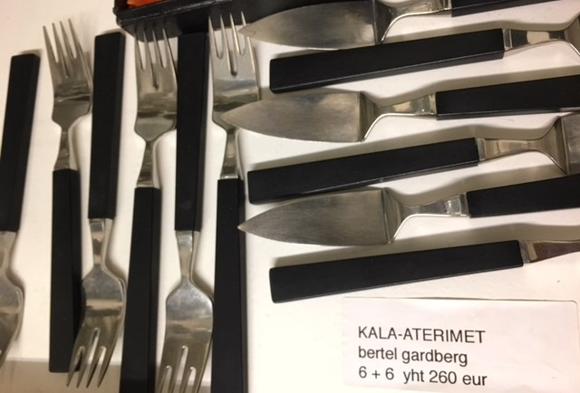 KALA-ATERIMIA / BERTEL GARDBERG