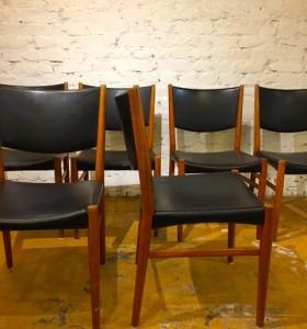 6 kpl tuolit Tanska /Kai Lyngfeldt LArsen /