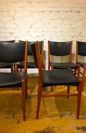 MYYTY! SOLD! / 6 kpl tuolit Tanska /Kai Lyngfeldt LArsen /