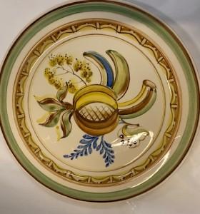 Tarjoilulautanen / ARABIA / 1950-luku / käsin maalattu